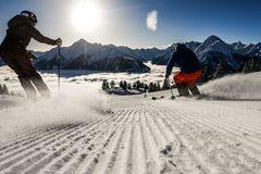 Skifahren in Mayrhofen - Foto Dominic Ebenbichler