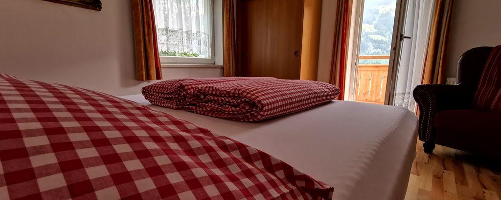 Details vom Schlafzimmer in der Ferienwohnung