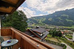 Aussicht vom Balkon der Ferienwohnung